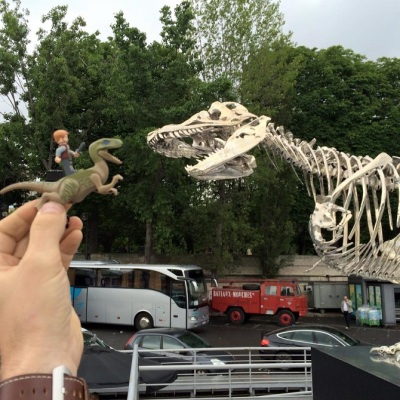 Jurassic Park Press Tour