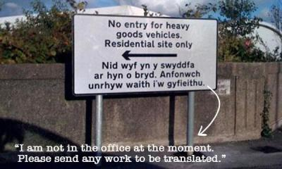 Welsh Translations