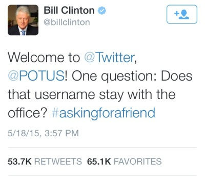 Welcome from Bill Clinton