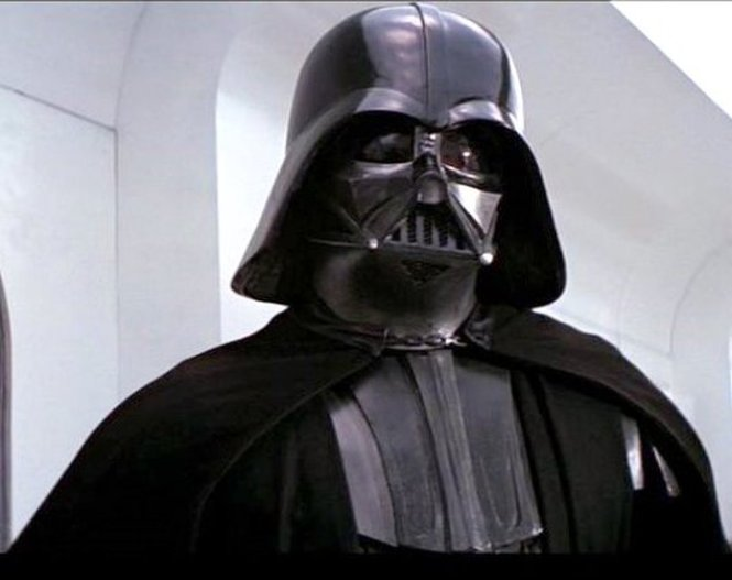 Darth Vader in 'Star Wars'