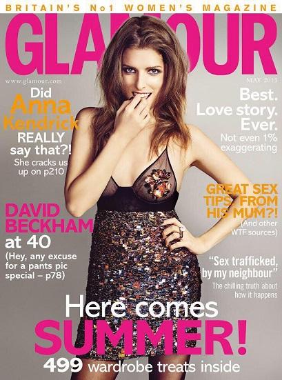 Anna Kendrick Glamour Magazine
