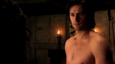 Richard Armitage as Guy of Gisborne in Robin Hood
