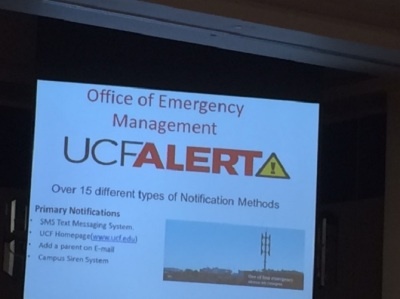 UCF Alert