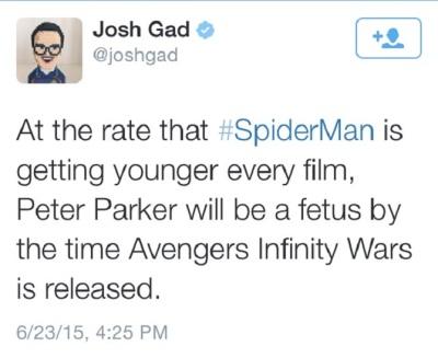 Josh Gad on Twitter