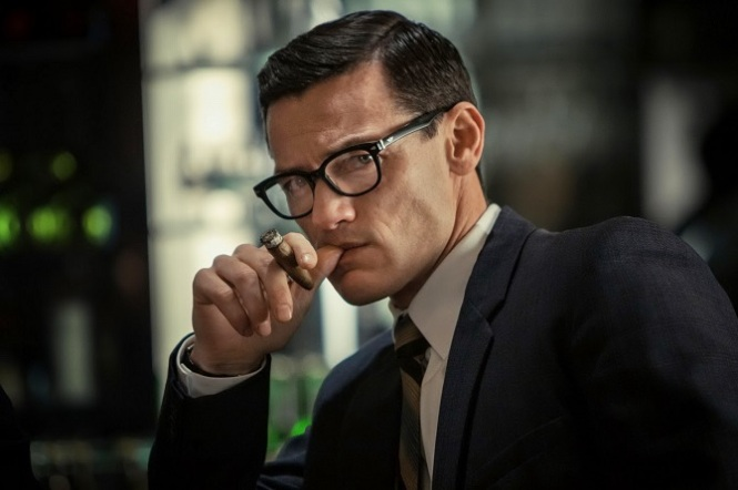 Luke Evans as James Bond