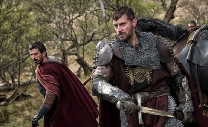 Richard Armitage in Pilgrimage new photos