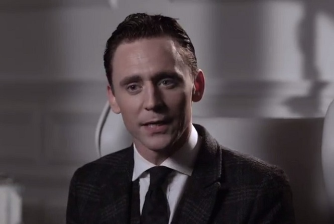 Tom Hiddleston as James Bond