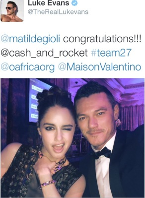 Luke Evans for Cash & Rocket