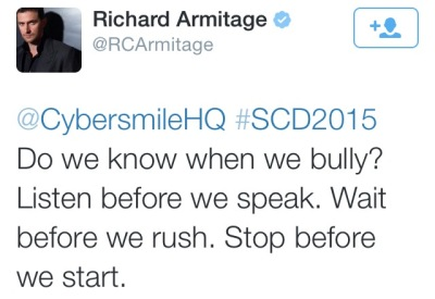Richard Armitage #SCD2015