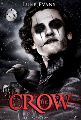 Luke Evans as The Crow