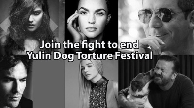 Celebrities against Yulin