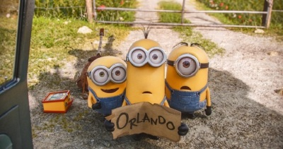 hitchhiking Minions