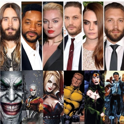 Top Casat of Suicide Squad