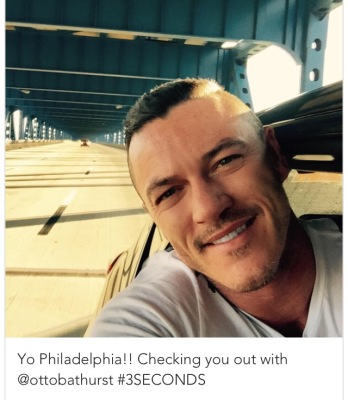 Luke Evans July 18th