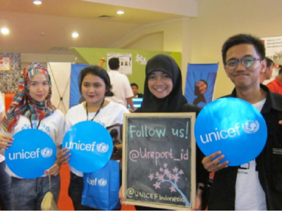 UNICEF support in Indonesia