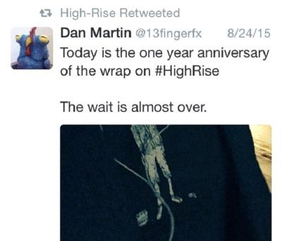 anniversary tweet by Dan Martin