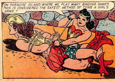 Wonder Woman and bind games