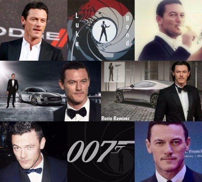 fan's edit #LukeEvansFor007