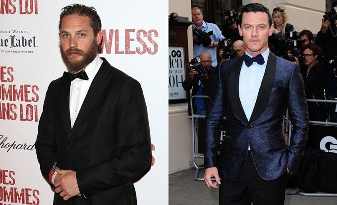 Tom Hardy vs Luke Evans round 2