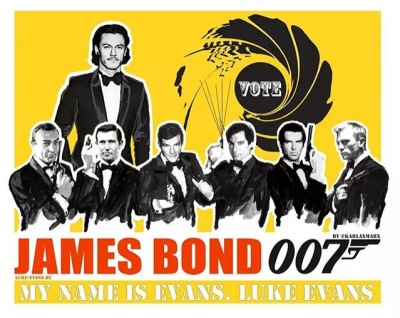#LukeEvansFor007 edit by Karla Marx